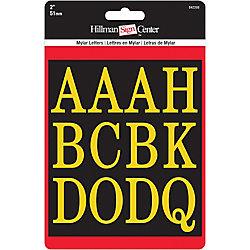 Hillman Ensemble De Lettres 2 Po, Noir Et Dore