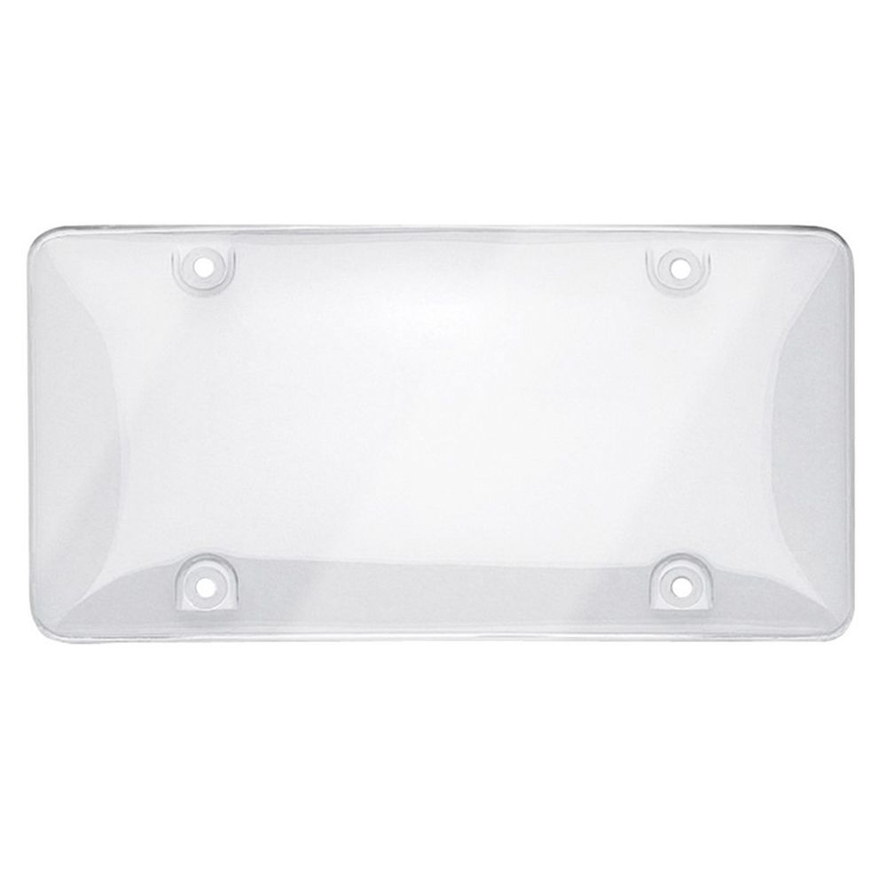 GO ON Licence Plate Cover - Clear