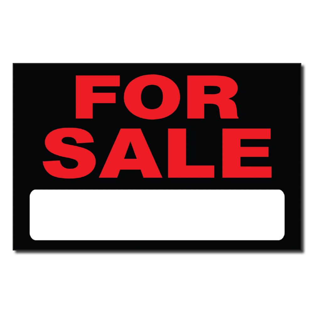 8 X 12 Sign - For Sale