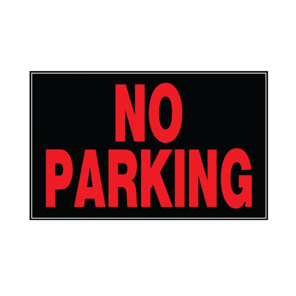 10 Inch X 14 Inch Aluminum Sign No Parking