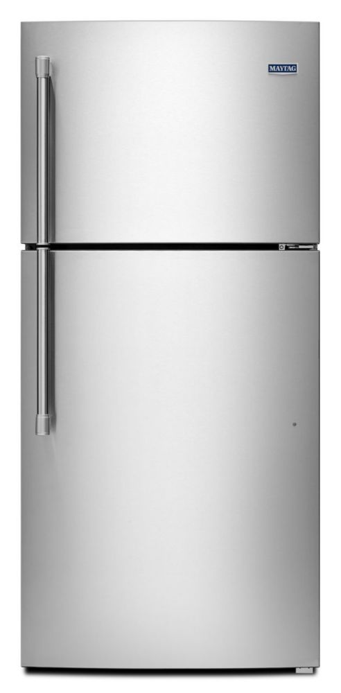 19.1 cu. ft. Top Freezer Refrigerator with Humidity Controlled Crispers in Stainless Steel