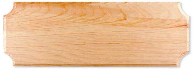 Pine Address Plaque