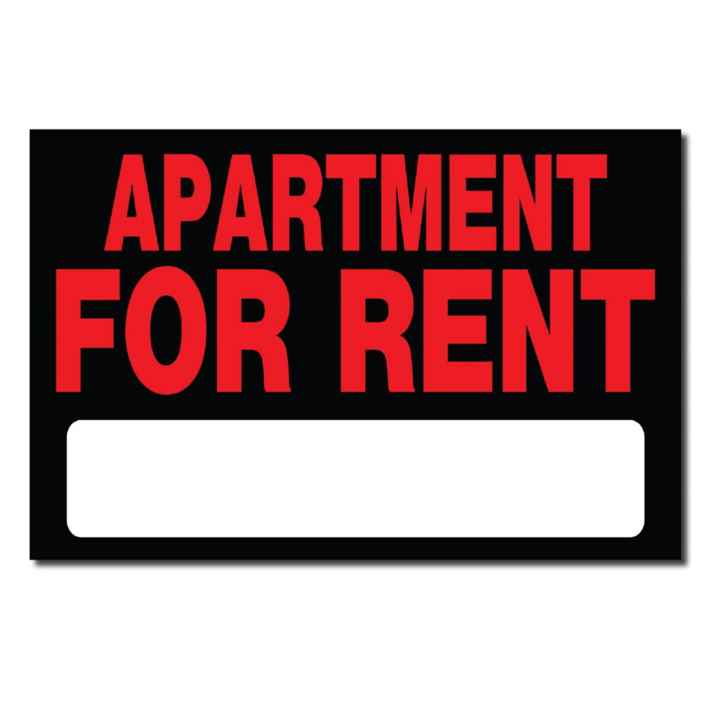 Apartment For Rent Sign: Hillman Affiche 8 X 12 - Apartment For Rent