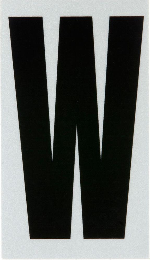2 Inch Black & Silver Reflec Mylar W
