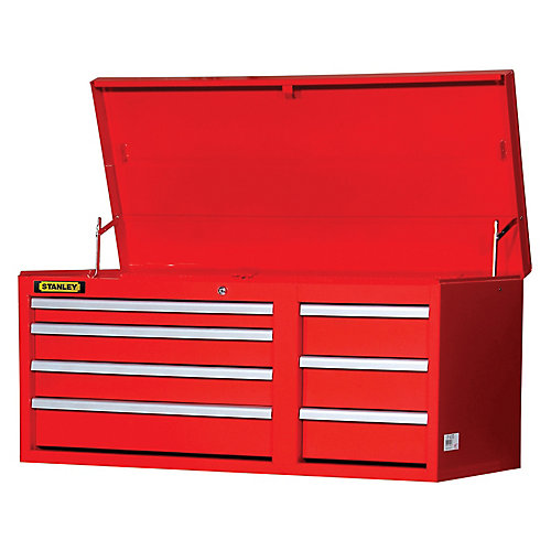 42 Inch 7 drawer Chest Red