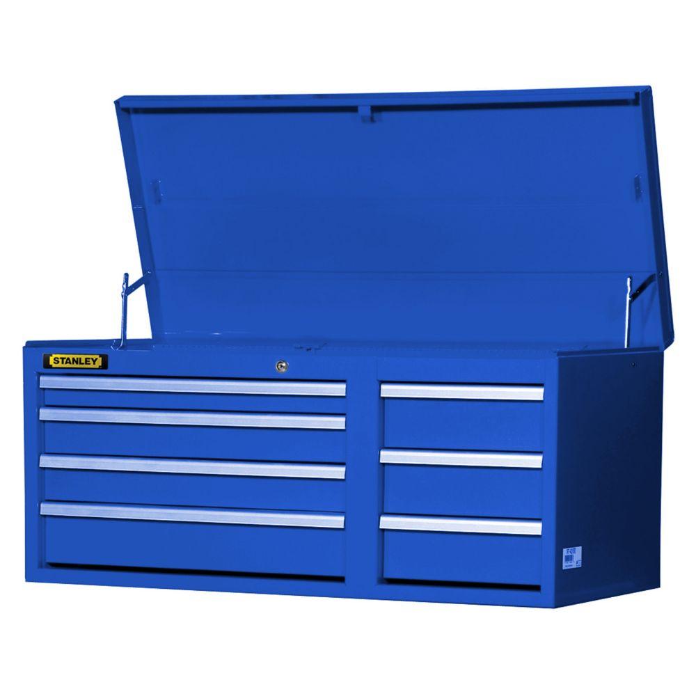42 Inch 7 drawer Chest Blue