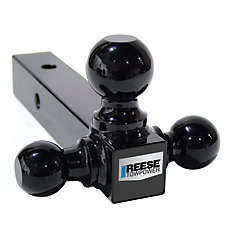 Tri Ball Mount All Black