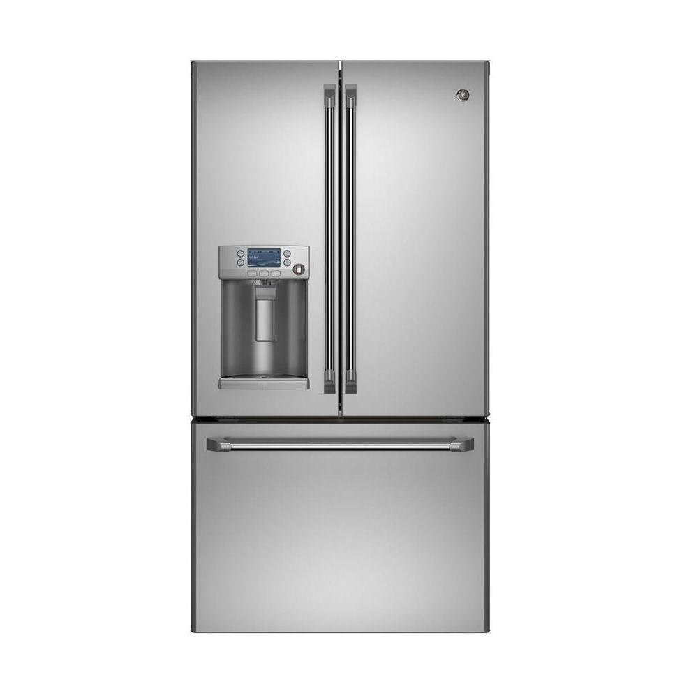 27.8 cu. ft. French Door Refrigerator with External Ice, Water and Hot Water in Stainless Steel - ENERGY STAR®