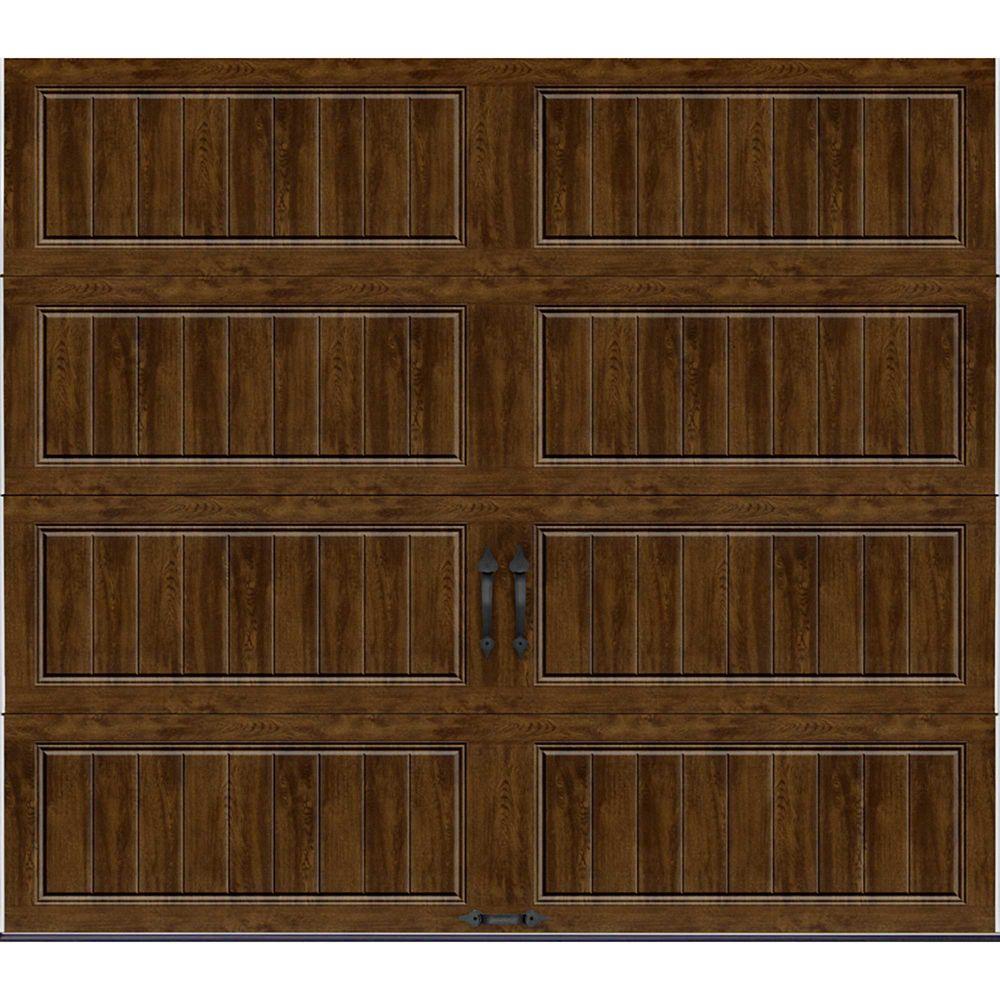 Porte de garage Collection Gallery 8pi x 7pi Valeur R 18.4 isolée en ployuréthane Intellicore U...