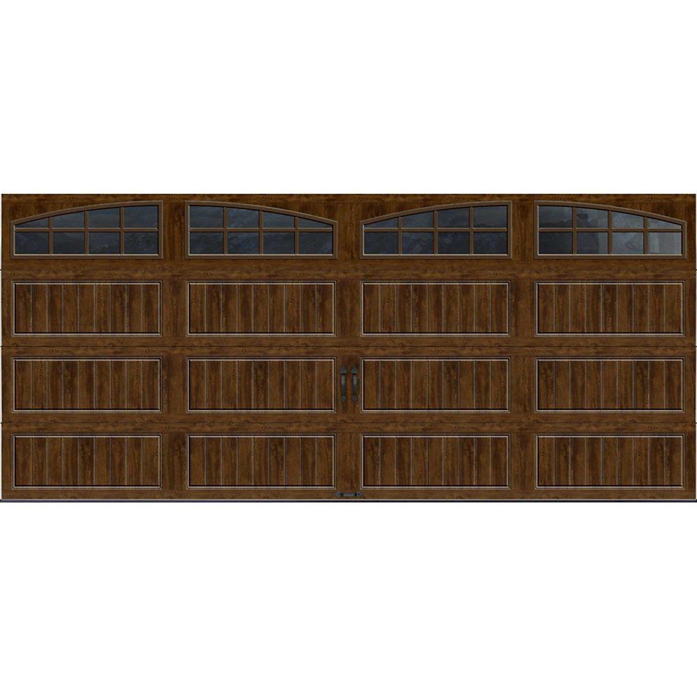 Porte de garage Collection Gallery 16pi x 7pi R 18.4 isolée en ployuréthane Intellicore Fini No...