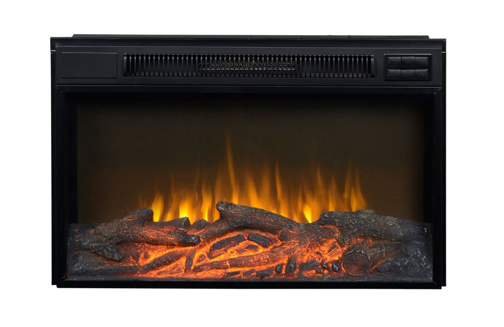 30 In. Wide Firebox Insert in Black