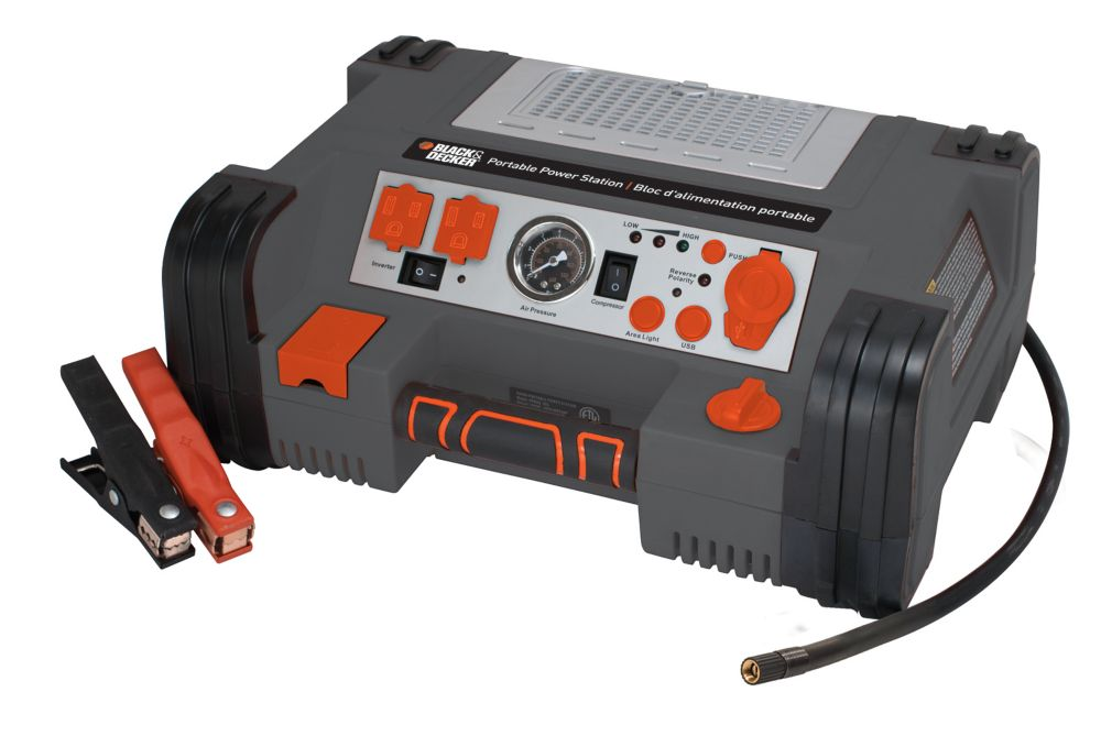 BLACK+DECKER portable power station