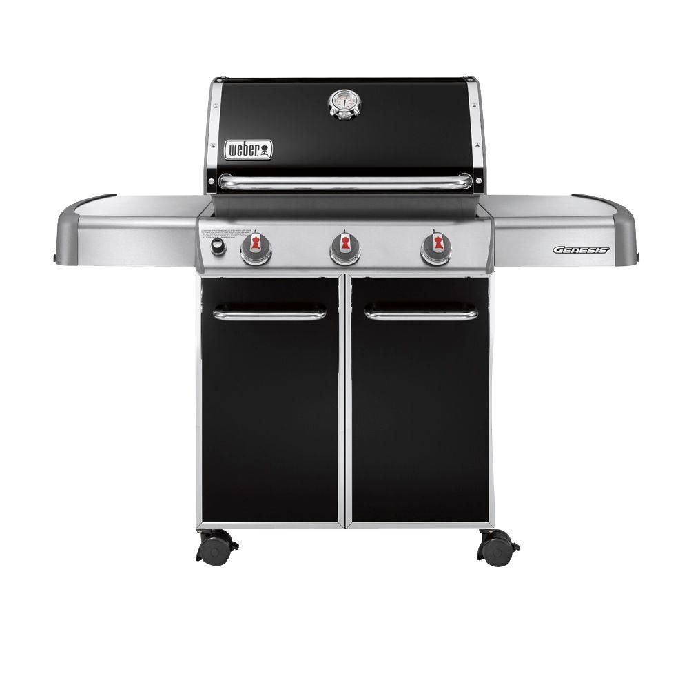 Genesis<sup>®</sup> E-310� LP Gas BBQ in Black