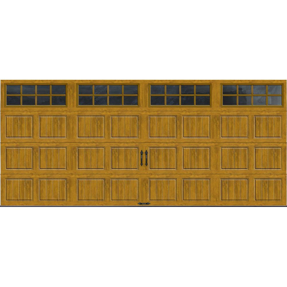 Gallery Collection 16 ft. x 7 ft. Intellicore Insulated Medium Garage Door with SQ24 Window