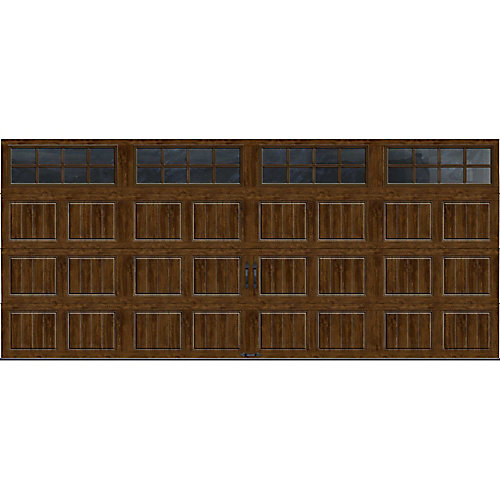 Clopay Gallery Collection 16 Ft X 7 Ft Intellicore Insulated