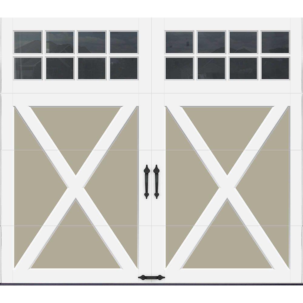 Porte de garage Collection Coahman 8 pi x 7 pi Valeur R 18.4 isolée en polyuréthane intellicore S...