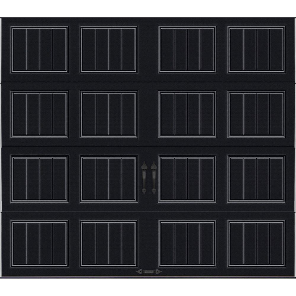 Porte de garage Collection Gallery 9 pi x 7 pi Valeur R 18.4 isolée en ployuréthane Intellicore B...