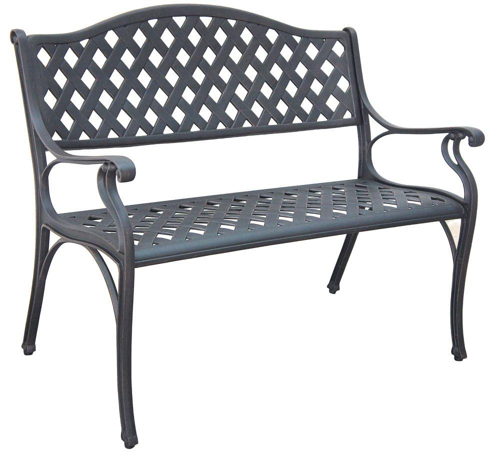 Upc 640312526623 Hampton Bay Benches Legacy Aluminum Patio Bench C526 62
