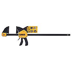 DEWALT 24-inch 600 lb. Trigger Clamp w/3.75-inch Throat Depth