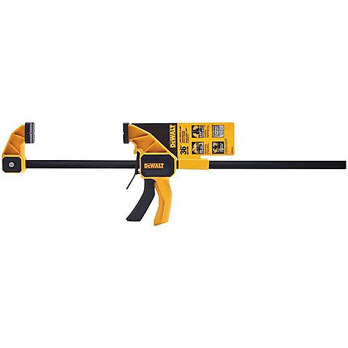 36-inch 300 lb. Trigger Clamp w/3.75-inch Throat Depth