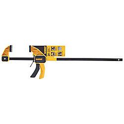 DEWALT 24-inch 300 lb. Trigger Clamp w/3.75-inch Throat Depth