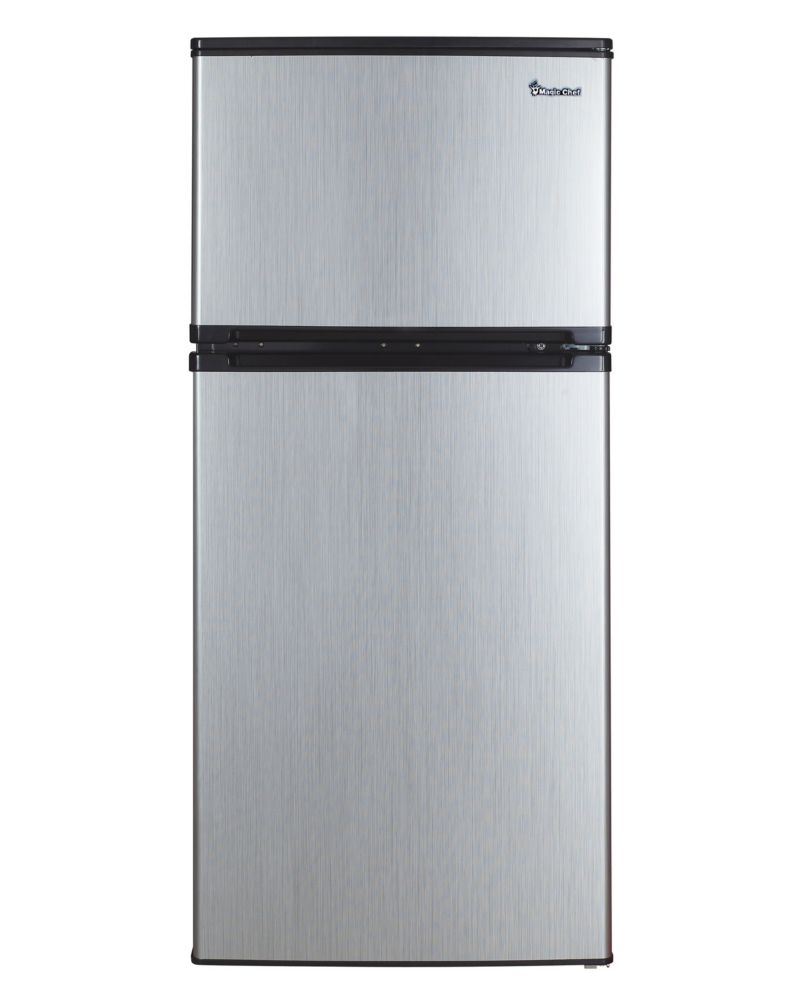4.3 cu. ft. Compact Refrigerator with Stainless Steel Look (Energy Star<sup>®</sup>)
