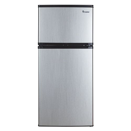 Magic Chef 4.3 cu. ft. Compact Refrigerator with Stainless Steel Look - ENERGY STAR®