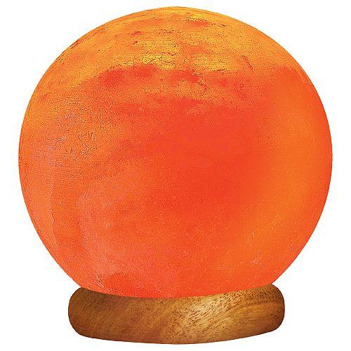 Himalayan Light Himalayan Ionic Sun Globe Salt Lamp