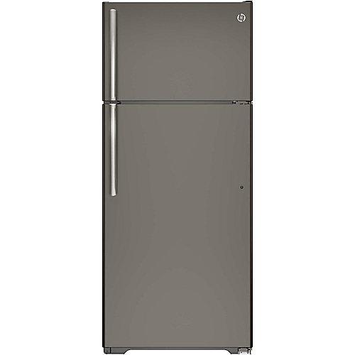 28-inch W 17.5 cu. ft. Frost-Free Top Freezer Refrigerator in Slate, ENERGY STAR®