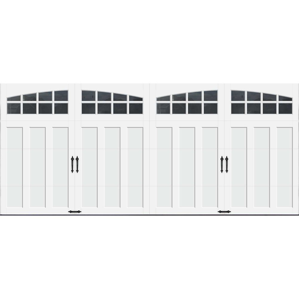 Porte de garage Collection Coahman 16 pi x 7 pi Valeur R 18.4 isolée en polyuréthane intellicore ...