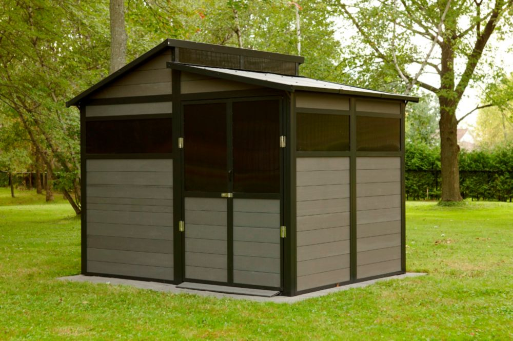 8 feet x 10 feet tremont shed bms8100 canada discount for Discount shed