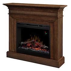 Harleigh Electric Fireplace with 26 In. Firebox In a Walnut Finish