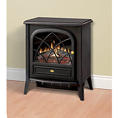 400 sq. ft. 20-inch Freestanding Compact Electric Stove in Matte Black