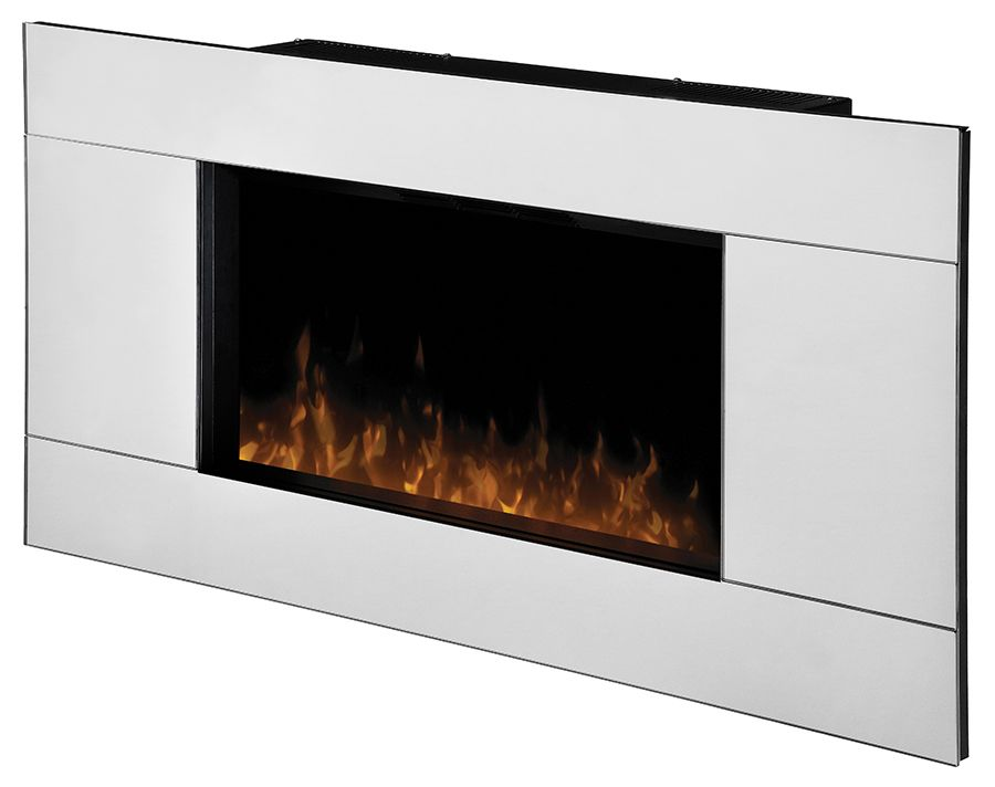 Dimplex Reflections Wall Mount Electric Fireplace with