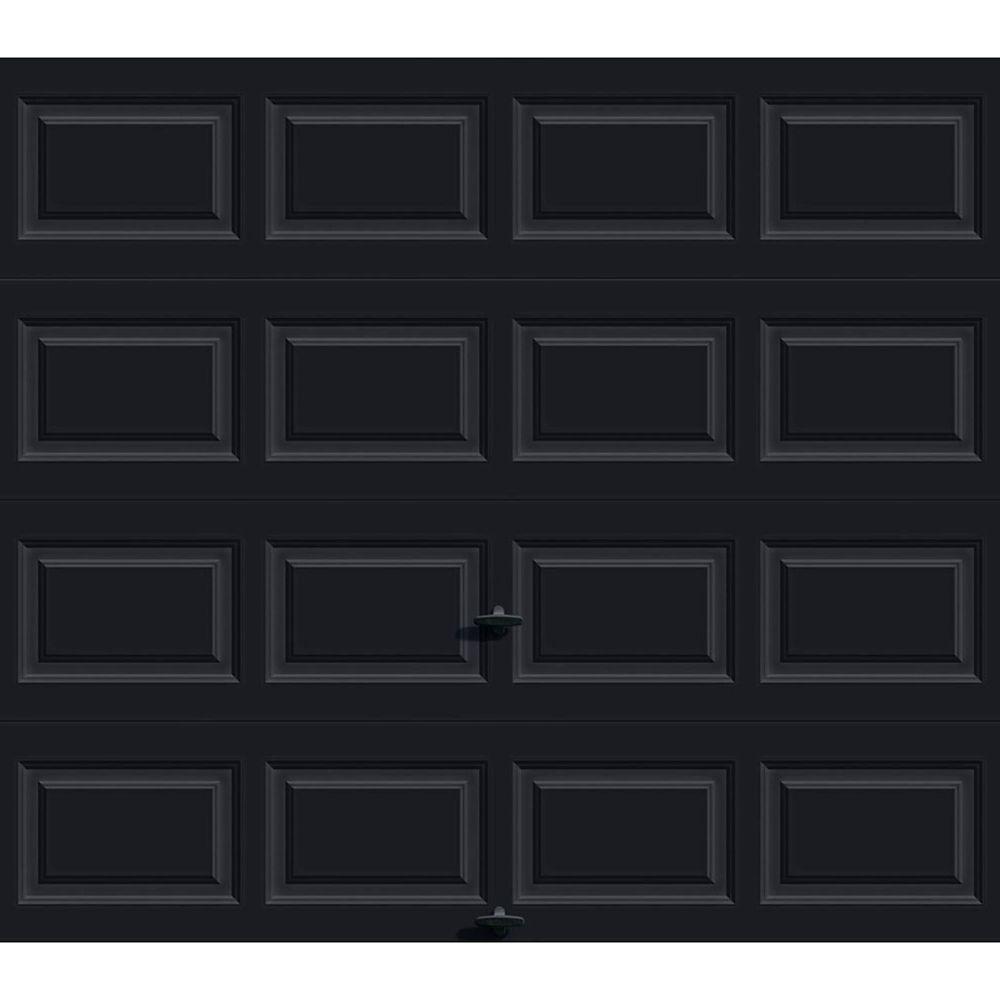 Porte de garage Série Première 8pi x 7pi Valeur R 12.9 isolée en polyuréthane Intellicore Avec ...