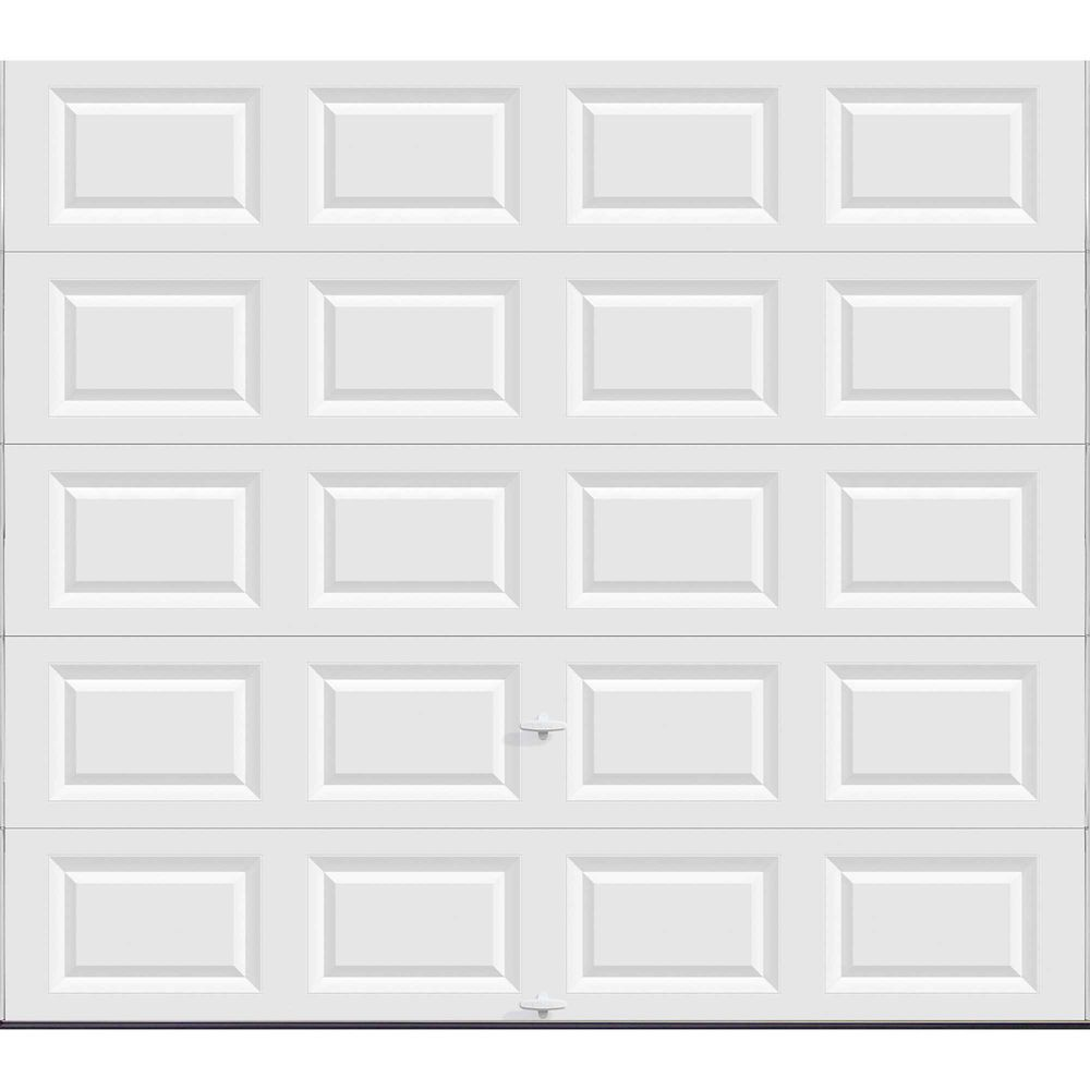Value Series 9 ft. x 8 ft. Non-Insulated Solid White Garage Door