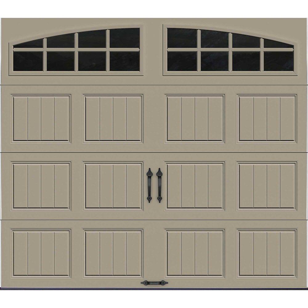 Porte de garage Collection Gallery 8pi x 7pi Valeur R 18.4 isolée en ployuréthane Intellicore S...
