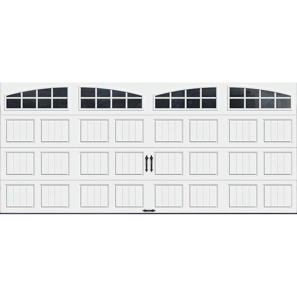 Porte de garage Collection Gallery 16pi x 7pi Valeur R 18.4 isolée en ployuréthane Intellicore ...