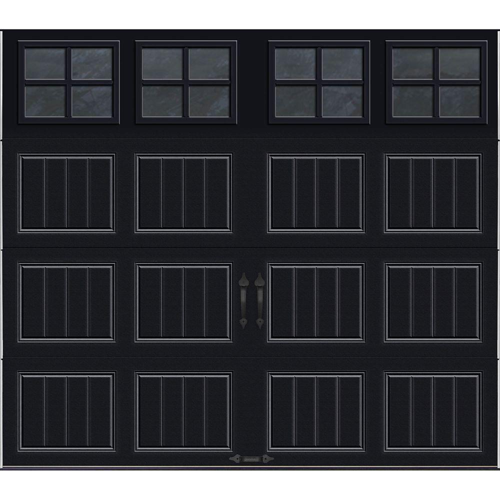 Porte de garage Collection Gallery 8 pi x 7 pi Valeur R 18.4 isolée en ployuréthane Intellicore B...
