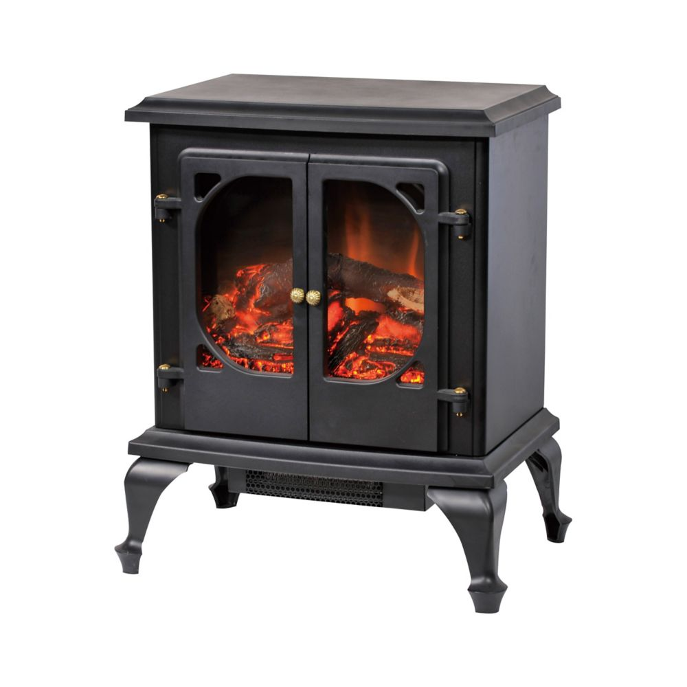 Corliving Fpe 300 F Free Standing Electric Fireplace The Home Depot Canada