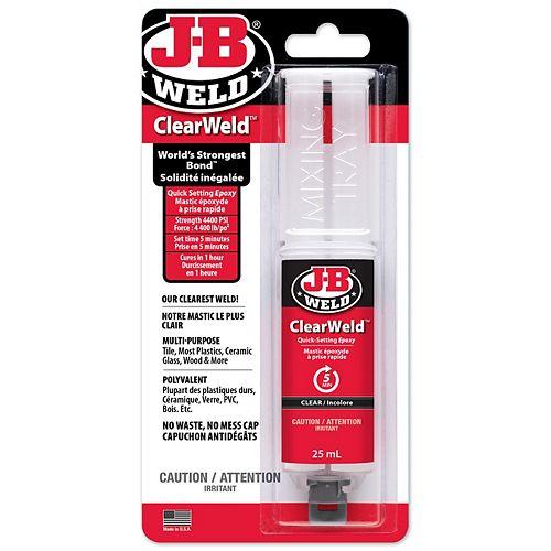 J-B Weld ClearWeld  Mfr Part  50112F