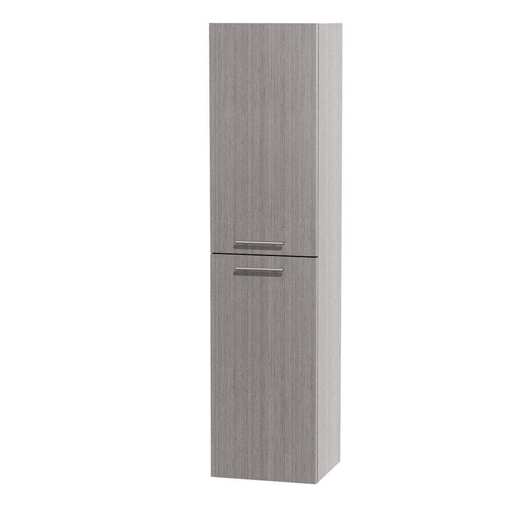 Bailey 56 In. W Wall Cabinet in Grey Oak