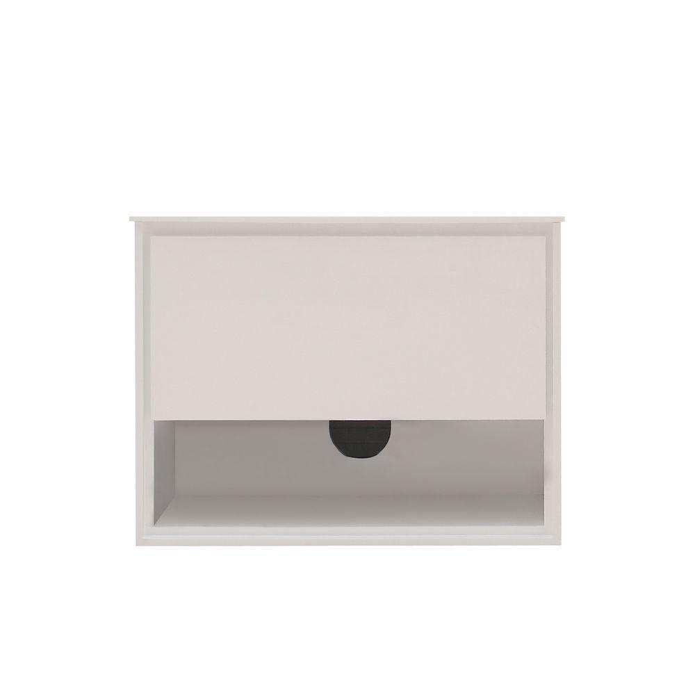 Meuble-lavabo Sonoma de 31 po au fini blanc