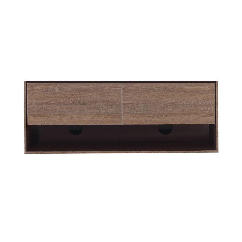 Sonoma 63-Inch  Vanity Cabinet in Restored Khaki