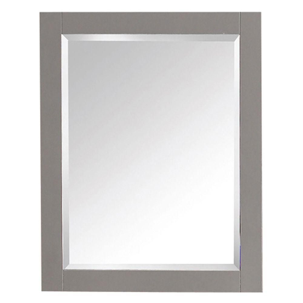 Transitional 24 In. Mirror in Chilled Gray 14000-M24-CG Canada Discount
