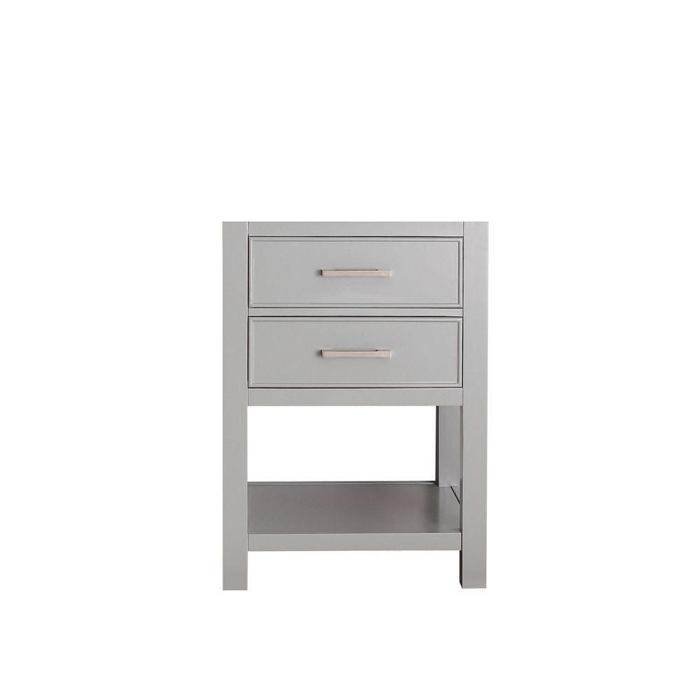Brooks 24-Inch  Vanity Cabinet in Chilled Grey