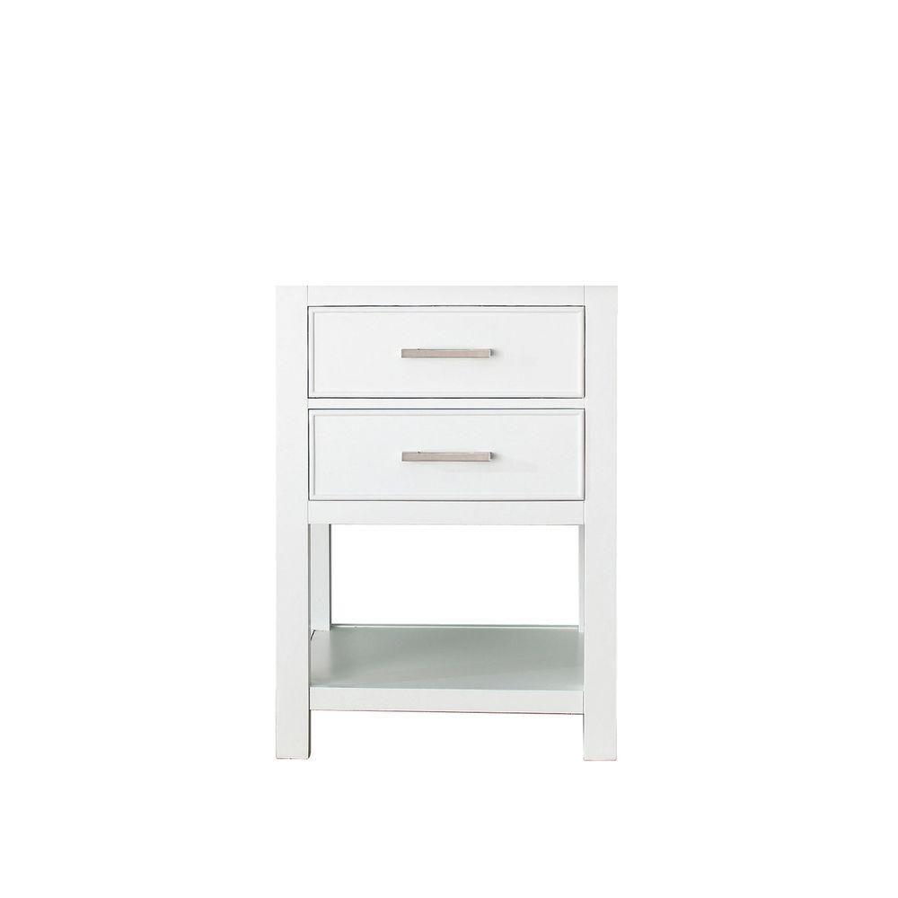 Brooks 24-Inch  Vanity Cabinet in White