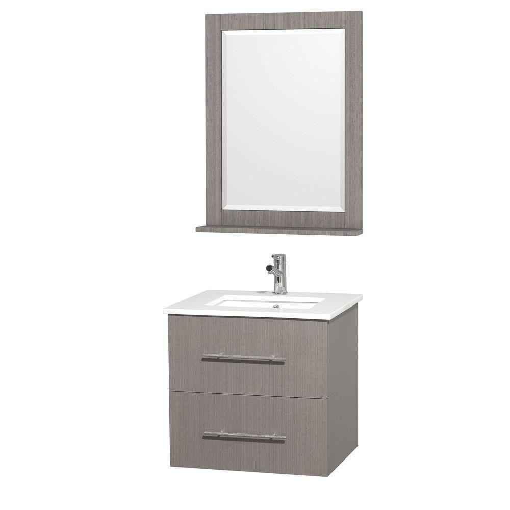 wyndham collection meuble centra ch ne gris et rev t. Black Bedroom Furniture Sets. Home Design Ideas