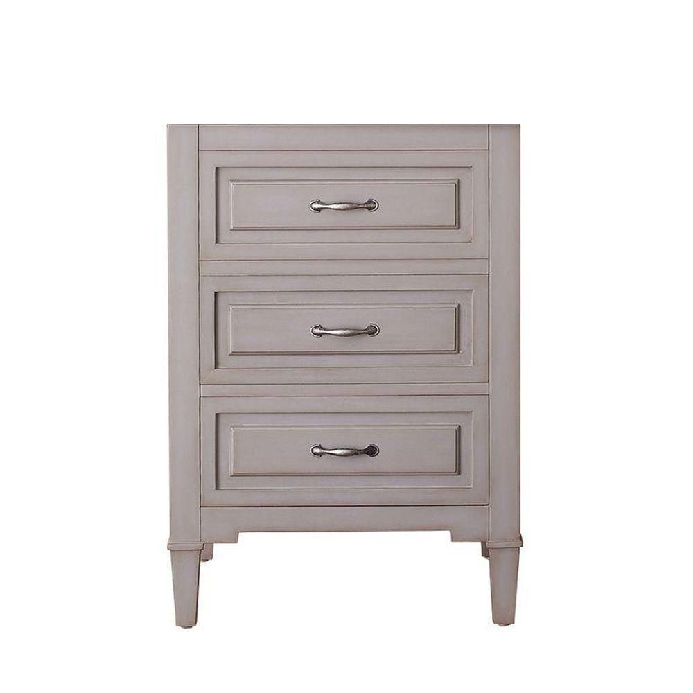 Kelly 24 In. Vanity Cabinet Only in Grayish Blue KELLY-V24-GB in Canada