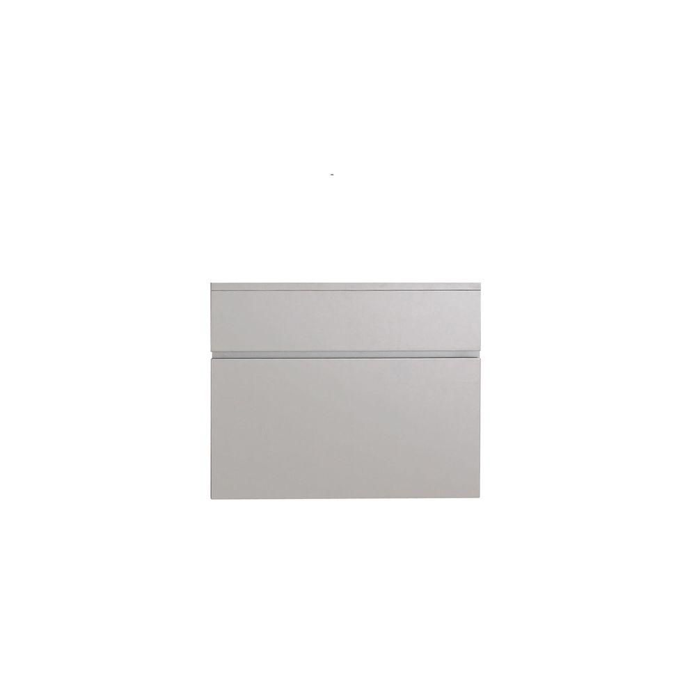 Tribeca 24 In. Vanity Cabinet Only in Chilled Gray TRIBECA-V24-CG Canada Discount